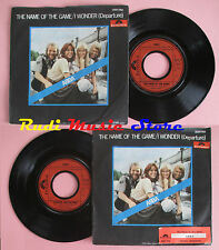 LP 45 7'' ABBA The name of the game I wonder 1977 germany POLYDOR cd mc dvd
