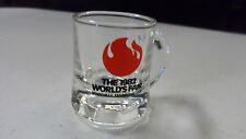 1982 WORLD'S FAIR KNOXVILLE TENNESSEE MINI MUG SHOT GLASS