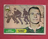 1968-69 TOPPS # 35 KINGS LARRY CAHAN   EX-MT CARD