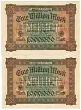 GERMANY REICHSBANKNOTE 1 MILLION MARK 1923/sold as each