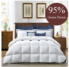 EXTREME WARMTH WINTER 800GSM KING SIZE 95% WHITE GOOSE DOWN QUILT DOONA DOOVET