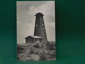 AK Rennsteig Warte Masserberg - ältere Ansichtskarte von 1957 Thüringen