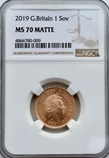 More details for 2019 gold sovereign matte ngc ms70 great britain uk