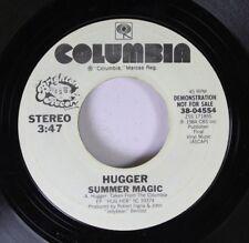 Rock Promo 45 Hugger - Summer Magic / Summer Magic On Columbia