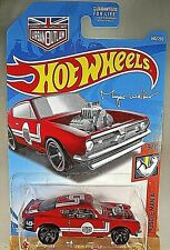 2019 Hot Wheels #140 Muscle Mania 9/10 KING KUDA Red w/Black MC5 Spoke Red Rims