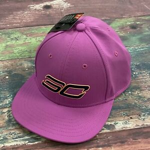 Under Armour SC Pink Adjustable One Size Youth Boys Hat NEW