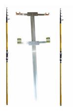 kit 2 canne 4m 100 + puntale doppio reggicanna da pesca surf casting