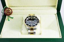 Rolex Submariner 16613 300m Submariner Oyster Mens Chronometer 18K Watch + Box