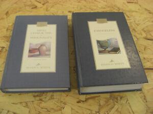 Lot 2 Vintage Ellen G. White,Christian Home Library Books,Maroon,SDA,Adventist