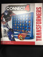 Transformers Connect 4 Game  Hasbro Homeschool Autobots Decepticons