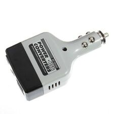 Car Charger Mobile Power Inverter Adapter DC 12V/24V Converter Plug + USB J9R4