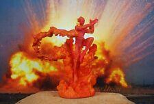 K1186 A Marvel Universe Fantastic Four 4 Human Torch Cake Topper Figure Model