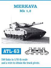 1/35 Friulmodel ATL-63 Merkava I & Merkava II Friul Metal Tracks