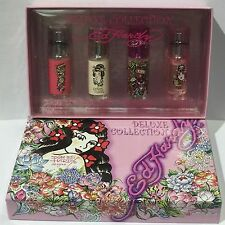 ED HARDY CHRISTIAN AUDIGIER DELUXE COLLECTION 4PC EDP SPRAY WOMEN'S PERFUME