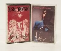 LOT OF 2 JESSE JOHNSON CASSETTE TAPES  ~ EVERY SHADE OF LOVE GEOCKADELEA