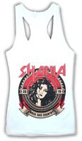 Shania Twain 2015 Rock This Country Juniors White Tank Top Shirt New Official