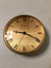Vintage Tiffany & Co Travel Alarm Clock Swiss 15 Jewels May Have Repeater