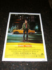 "TAXI DRIVER Original 1976 Movie Poster, 27"" x 41"", C8 Very Fine Condition"