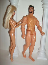 MOVE OVER KEN ~ BARBIE HAS A BODY BUILDER WARRIOR ~ HUGE ACTION FIGURE 1:6 NUDE!