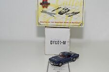 MATCHBOX DINKY DYG01-M FORD MUSTANG FASTBACK 1967 DARK BLUE MINT BOXED