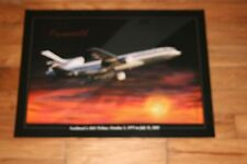 DELTA AIR LINES - L 1011 FAREWELL POSTER - 23 X 17 - NEW