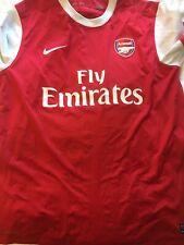 Rare Marouane Chamakh Signed Arsenal Football Shirt Fc