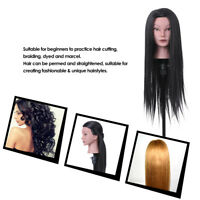 Hairdressing Hair Style Training Practicing Head Dummy Mannequin Doll Head I0U2
