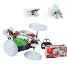 Funny Mini RC Car Remote Control Toy Stunt Car Monster Truck Radio Random Color
