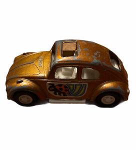 "Vintage Tootietoy Volkswagen VW BEETLE BUG Diecast Toy Car 3"" Tootsie Toy"