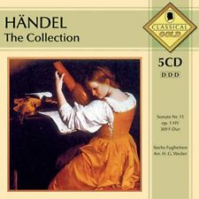 CD NEUF - HANDEL - THE COLLECTION / Edition 5 CD - C2