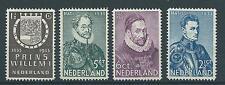 1933TG Nederland Herdenkingszegels NR.252-255 postfris, mooie serie