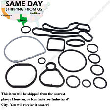 OEM Engine Oil Cooler Gasket Seal for Chevrolet Cruze Aveo Sonic - Full 15 PCS