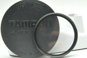 Tamron Lens Cap With 49mm Filter for Pentax K1000 50mm F2 USA. PAT. No.3500735
