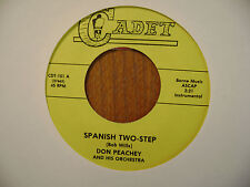 CADET 45 RECORD/ DON PEACHEY/YOU CAN'T TAKE IT WITH YOU/SPANISH TWO STEP/NR MINT