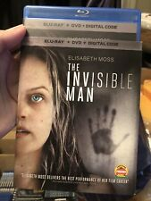 The Invisible Man Blu-ray & Dvd With Slipcover. No Digital..free shipping