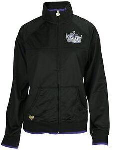 Los Angeles Kings Women's Reebok Full-Zip Track Jacket Small-XL