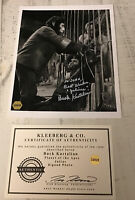 AUTOGRAPHED Julius Kastalion Planet of the Apes  8x10 Showcase  In Sliver