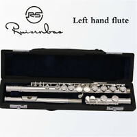 Professional silver plated flute left hand flute