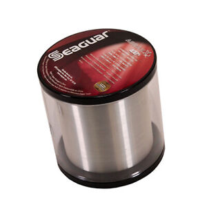 Seaguar Abrazx 100% Fluorocarbon Fishing Main Line 1000yd 08lb Clear 08AX1000