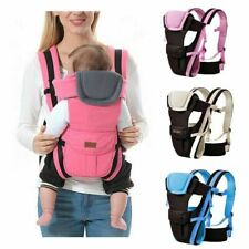 Mochila Portabebés Portador de Bebé Mochilas para Bebés Portador Niños Ajustable