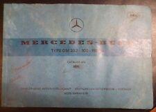 Mercedes Unimog Motoren OM352 Ersatzteilkatalog