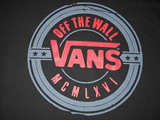 """VANS """"Off The Wall"""" Shoes & Sneakers T-Shirt Large NEW w/Tags"""