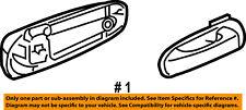 Dodge CHRYSLER OEM Durango Rear Door-Handle Outside Exterior Right 1EH601W7AA