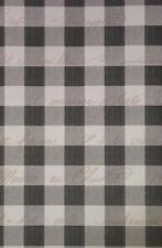 York Black, Grey and White Plaid Wallpaper - Tj9117