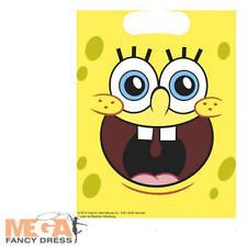 Spongebob Birthday Party Fancy Dress Favour Loot Bags