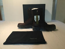 Yohji Yamamoto Pour Homme Engineer Boots Size 4=US 10.5 Brown New In Box