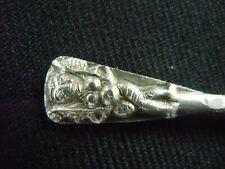 Cuillère a sel  métal argenté