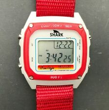 Vintage 1980's FREESTYLE Shark 808 30BAR Dive Surfing 38mm watch - New Battery