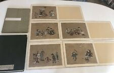 Masterful Album of Kano School Circa 18th Cent. Paintings - New Year's/Kansai