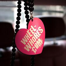 Wheel-Whores Com 3D Car Auto Rearview Interior Pendant Ornament Hanging Charm